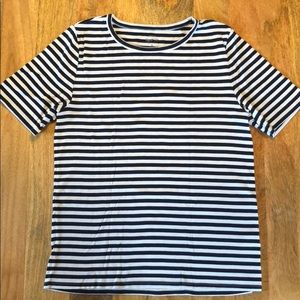 J Crew Perfect Fit Striped—XL